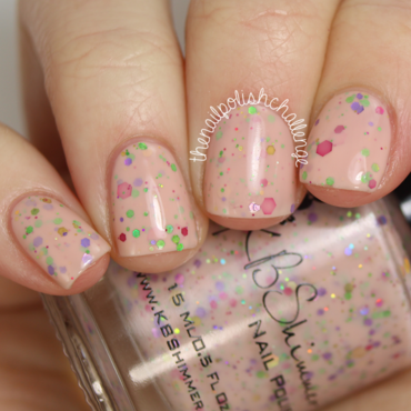 Kbshimmer to peach his own thumb370f