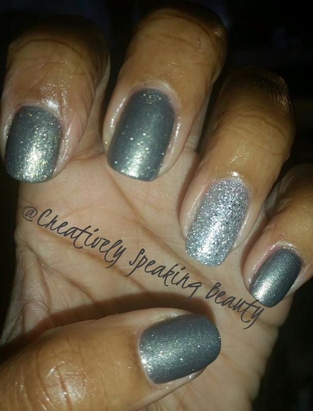 Revlon Rich and Revlon Diamond Texture Swatch by Kewani Granville