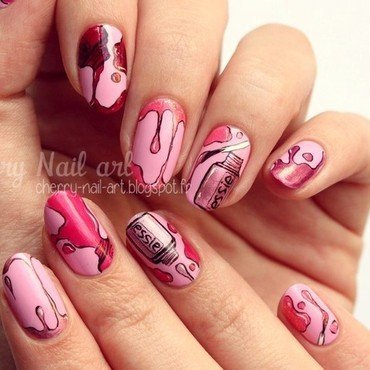 Nail art vernis nail art by Cherry Nail art