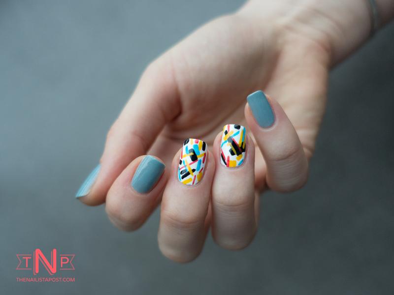 Nailstorming Géométrie nail art by Kate C. - Nailpolis: Museum of ...