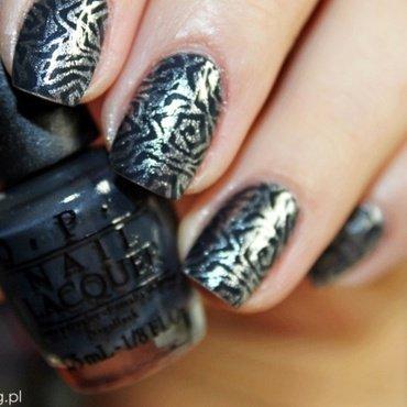 Dark Side of the Mood nail art by Amethyst