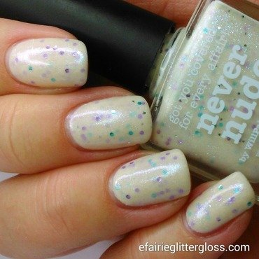 piCture pOlish Never Nude Swatch by Emma