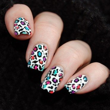 January Nail Art Challenge - Animal nail art by Katie of Harlow & Co.