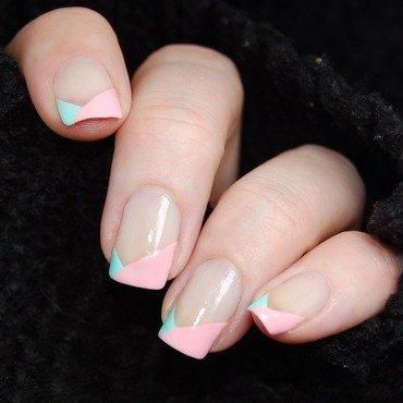 January Nail Art Challenge - Fresh nail art by Katie of Harlow & Co.