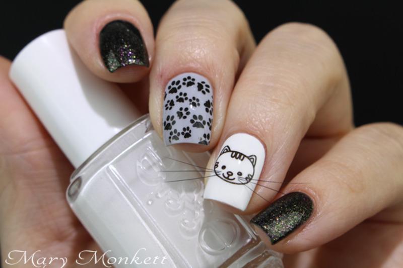Animal de compagnie nail art by Mary Monkett