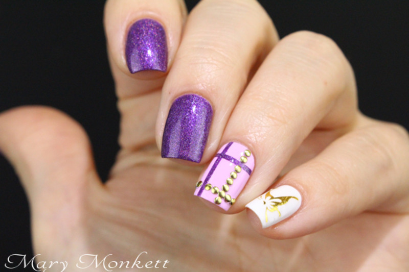 Hussy nail art by Mary Monkett