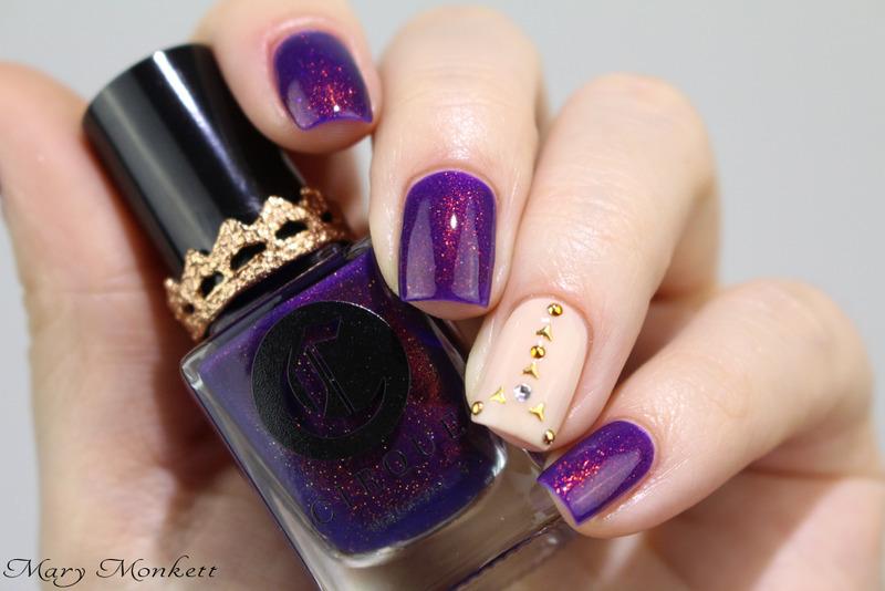 Coronation nail art by Mary Monkett
