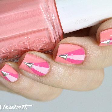 Nail art pink essie romper room2 thumb370f