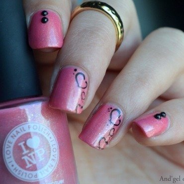 Valentine's Nails nail art by And'gel ongulaire
