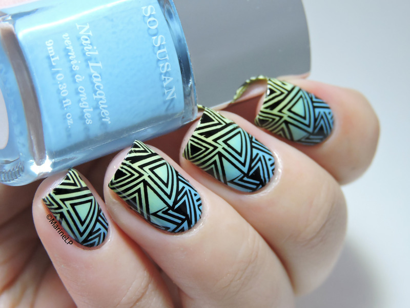 Géometrie nail art by Marine Loves Polish