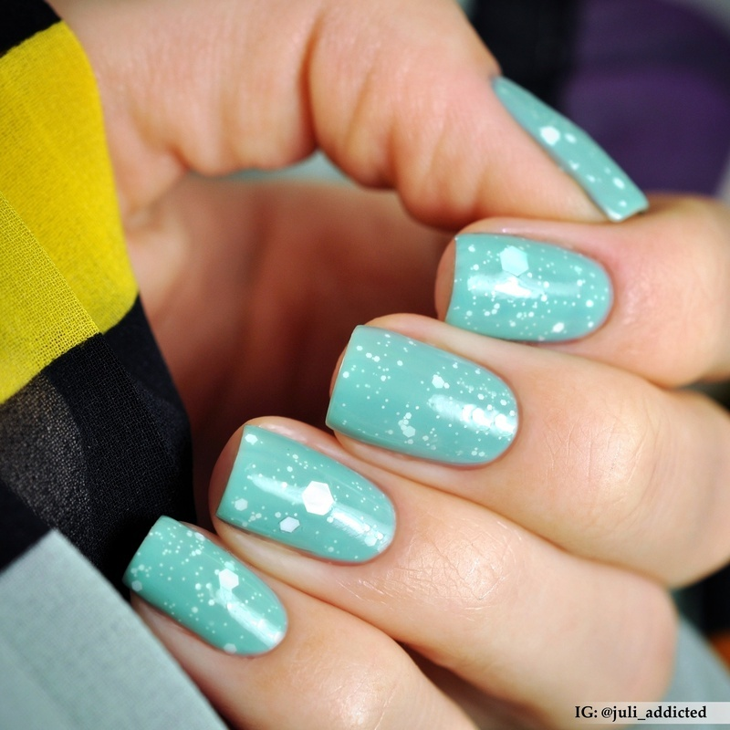 """Nfu Oh JS16 and Maybelline №246 """"Acid Wash"""" Swatch by Juli"""