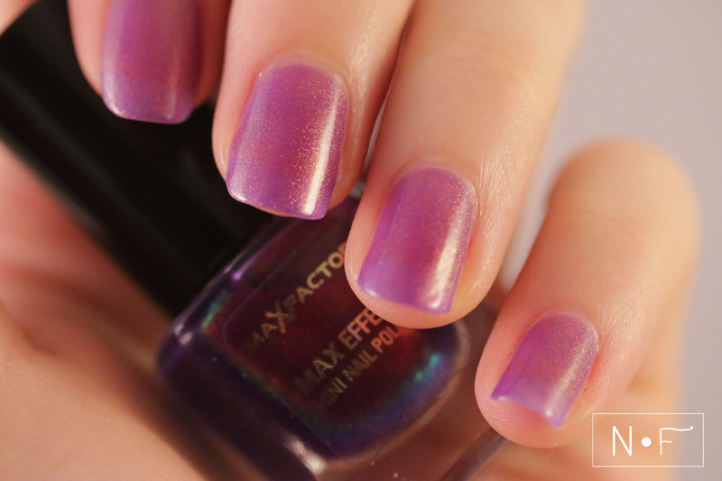Max Factor Fantasy Fire Swatch by NerdyFleurty
