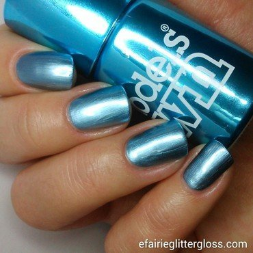Models Own Chrome Blue Swatch by Emma