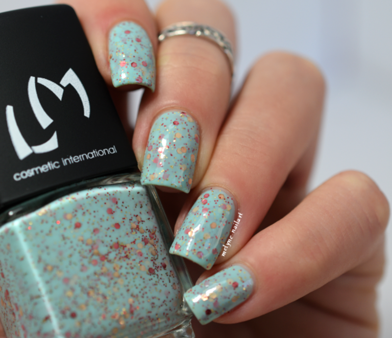 LM Cosmetic Diva Swatch by melyne nailart