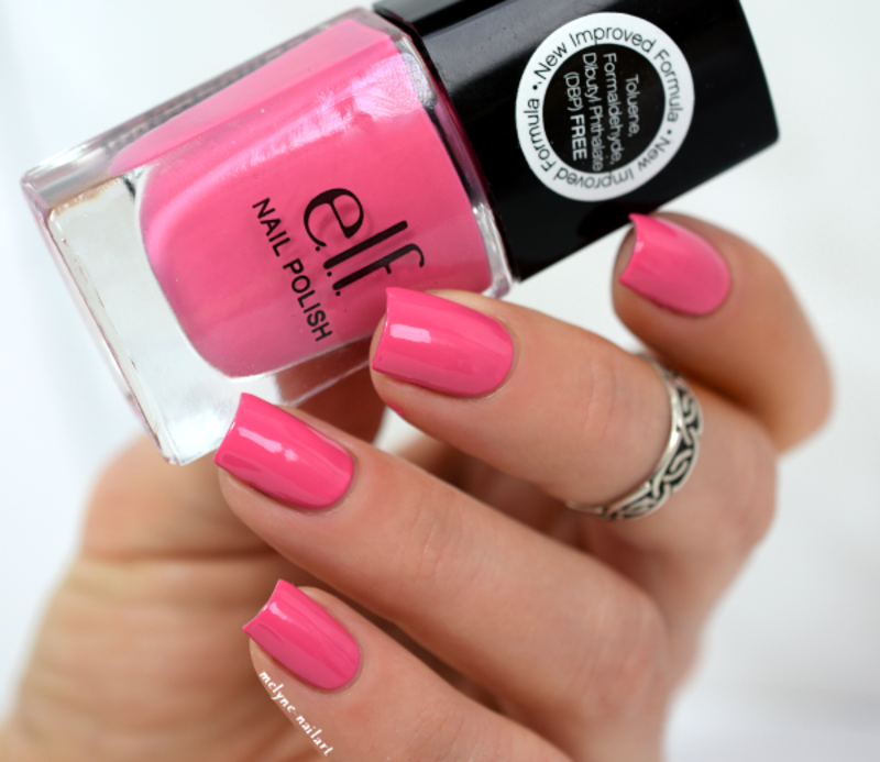 Bubble Gum Nail Art: Elf Bubble Gum Pink Swatch By Melyne Nailart