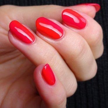 Vibrant Ciaté gradient nail art by Love Life Lacquer