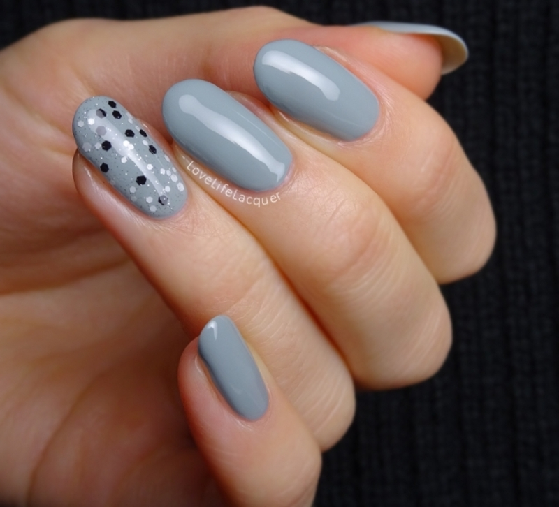 Simple accent nail nail art by Love Life Lacquer