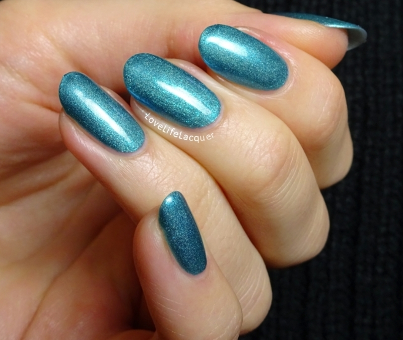 Cadillacquer Crystal nail art by Love Life Lacquer