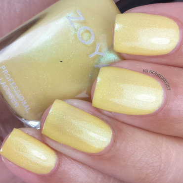 Zoya Daisy Swatch by Rose Mercedes