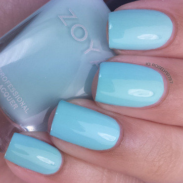 Zoya Lillian Swatch by Rose Mercedes