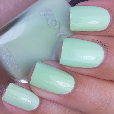 Zoya Tiana Swatch by Rose Mercedes