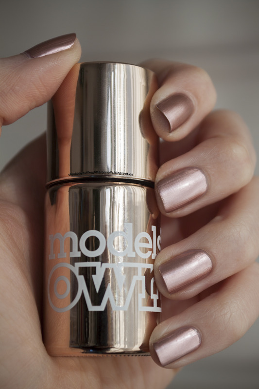 Models Own chrome rose Swatch by Jule