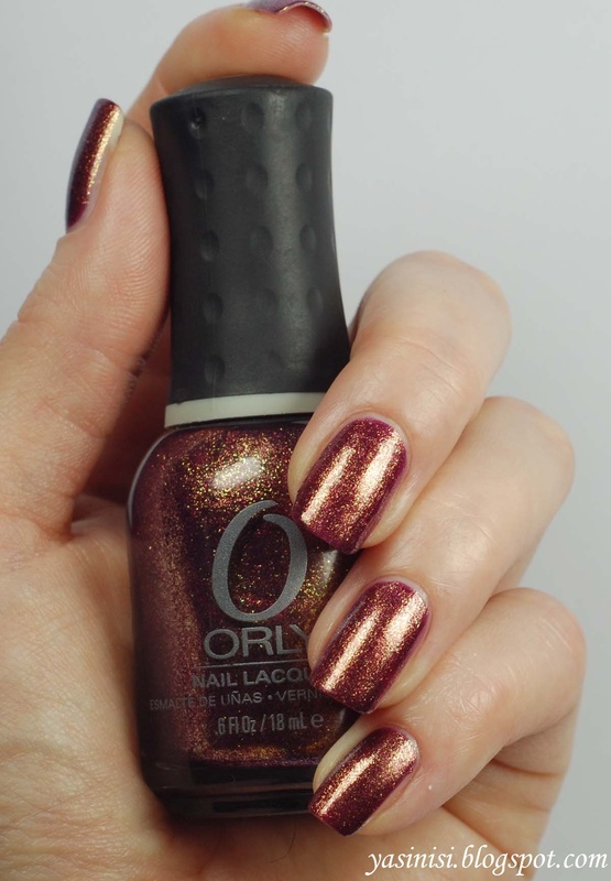 Orly Rock the World Swatch by Yasinisi