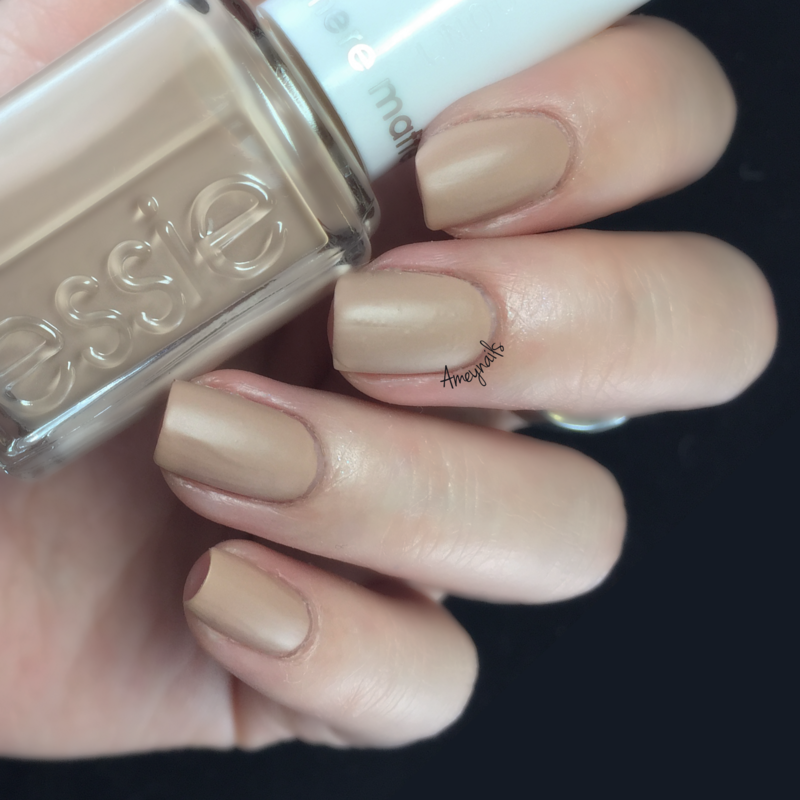 Essie All Eyes on Nude Swatch by Amey