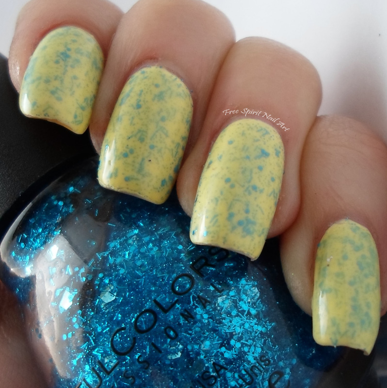 Glitter Mani Madness nail art by Free_Spirit_Nail_Art