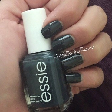 Essie Mind Your Mittens Swatch by LittleNuclearReactor