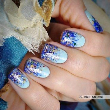 #70 nail art by Juli