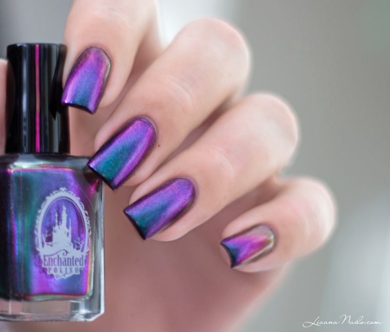 Enchanted Polish Magical Mystery Tour Swatch by Lizana Nails