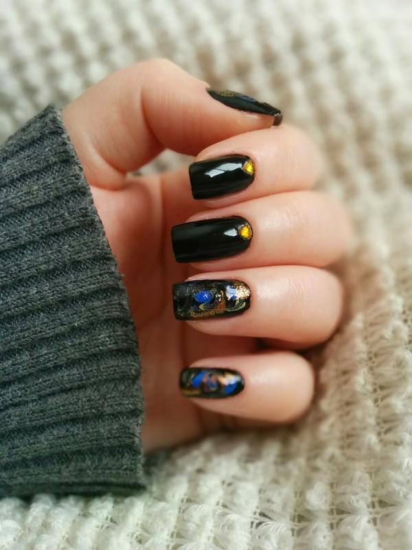 Organized chaos  nail art by GlitterMySocksOff