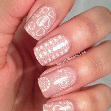 Valentine's Day Nail Art nail art by Valiantly Varnished