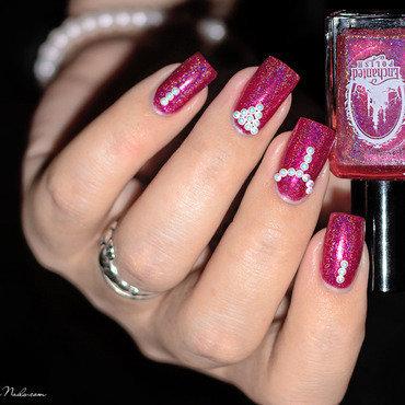 Nail Art Perles nail art by Lizana Nails