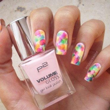 watercolor nails nail art by irma