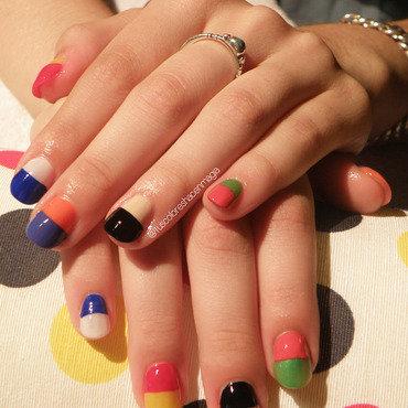 Pills' nails nail art by Michelle Mullett