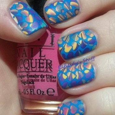 Stamping Sunday 2-08-2015 nail art by Jenette Maitland-Tomblin