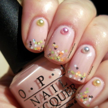 Pretty Pastels nail art by Donner
