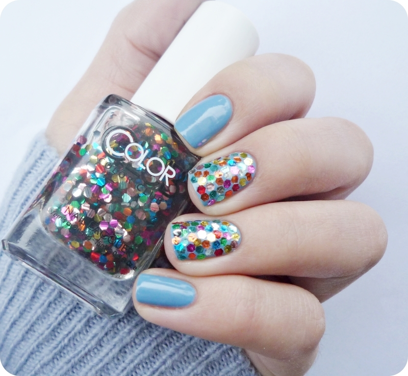China Glaze Electric beat and Color Club Surprise ! Swatch by Romana