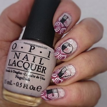 Love nail art by T. Andi