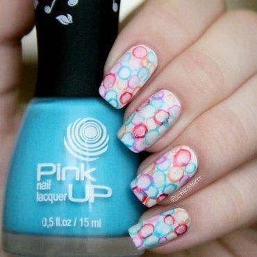 bubbles nail art by cheshirrr
