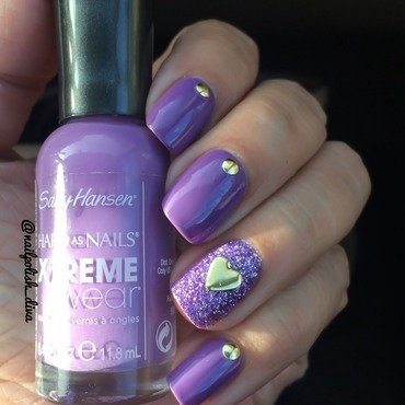 Passion For Lilac 💜 nail art by Marilyn