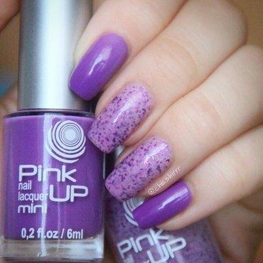 grape smoothie nail art by cheshirrr