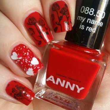 Love is in the air with anny nail art by NailartAddicted