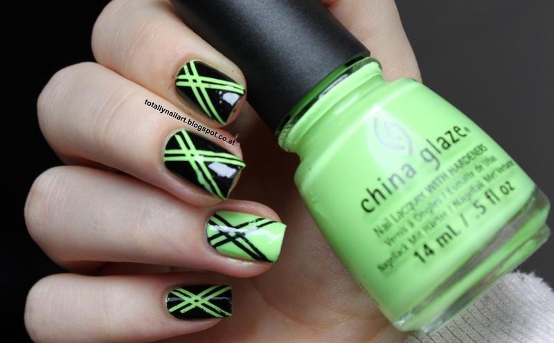 Striping Tape Design nail art by NailartAddicted