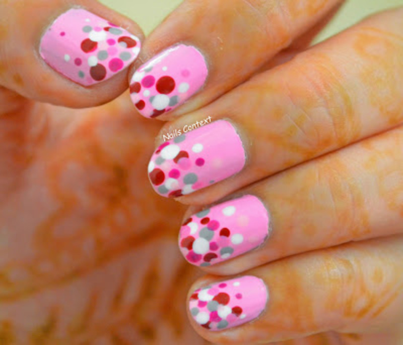 Valentines Dotticure nail art by NailsContext