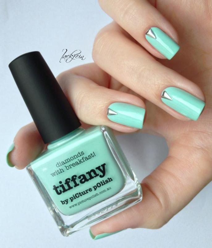 Tiffany nail art by lackfein