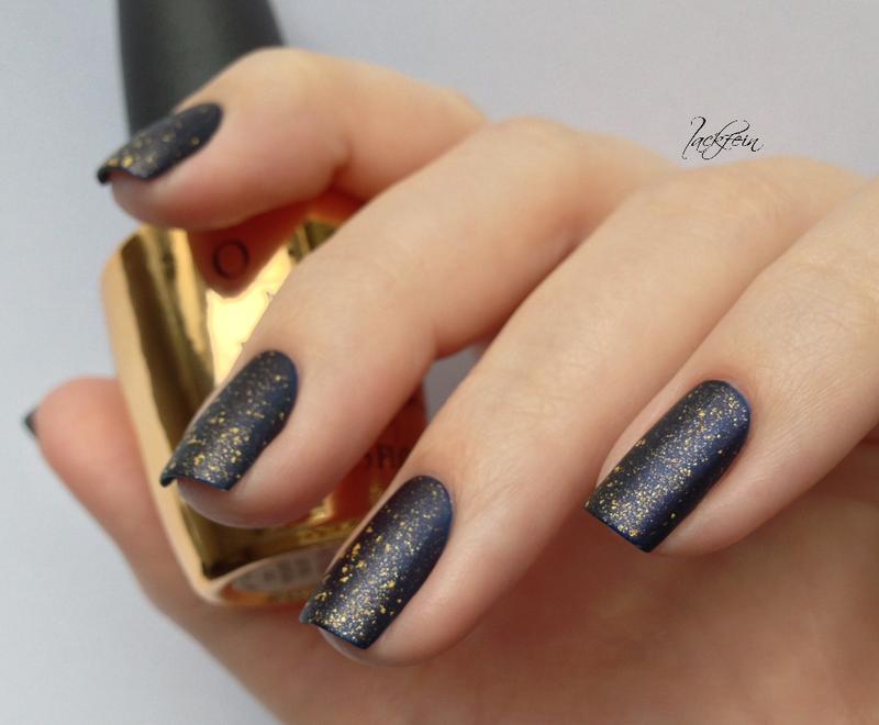 Pure Gold nail art by lackfein