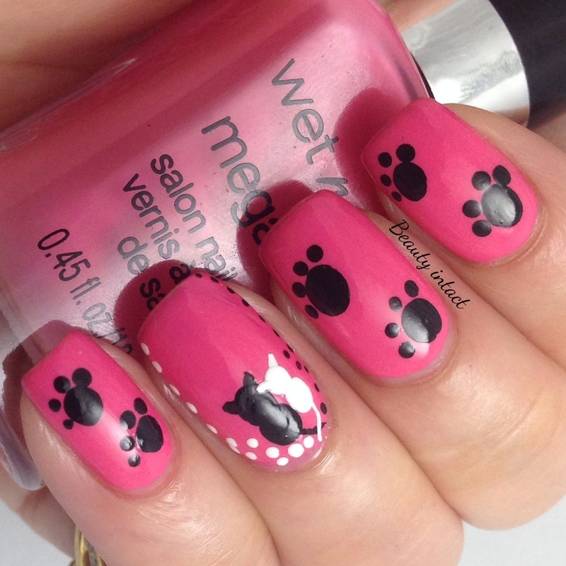 Cat Love  nail art by Beauty Intact